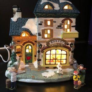 Santa's Workbench Lighted Sweet Stuff Bakery
